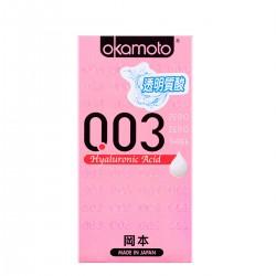 【避孕套】冈本 003透明质酸(限价)