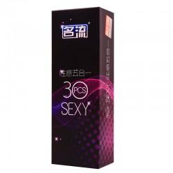 【避孕套】名流  五合一 安全避孕套(零售限价59.9)