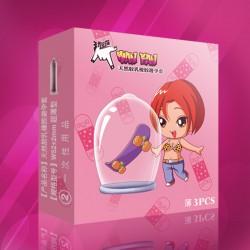 【避孕套】 玩范   超薄3只装安全避孕套(限价3元)