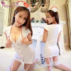 【情趣内衣】【天猫专区】霏慕角色扮演护士服套装7908【原8908】(限价销售)更换图片包