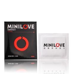 【情趣用品】minilove微爱 男用喷剂湿巾 单片1.5ML(零售3元)