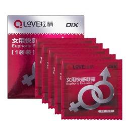 【情趣用品】OIX女用调情凝露50片一盒(限价6元)