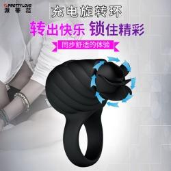 【情趣用品】派蒂菈  风扇型充电旋转环(限价109元)