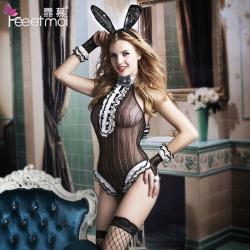 【情趣内衣】【天猫专区】霏慕开档兔女郎套装7994(限价销售)