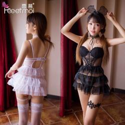【情趣内衣】霏慕钢圈棉垫蛋糕公主裙7738(限价销售)
