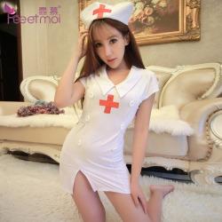 【情趣内衣】霏慕制服护士服套装7903(限价销售)
