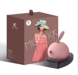 【女用器具】kiss toy  萌兔吸吮按摩器外部刺激(限价239)月销500+以上,适合主流平台销售以及推广。