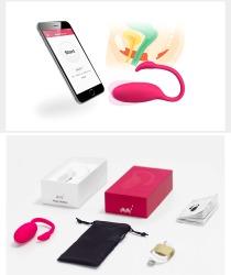 【情趣用品】魅动  手机APP 火烈鸟 震动遥控情趣跳蛋 (限价329)