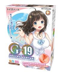 日本【男用器具】对子哈特 G19软妹系列动漫名器 阴臀倒模 17岁