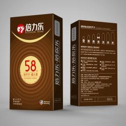 【避孕套】倍力乐全尺寸58