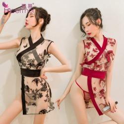 【情趣内衣】霏慕玉蝶恋花日系和服套装6939【限价销售78】