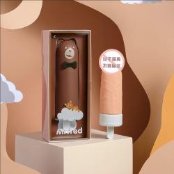 【女用器具】KISS TOY 泰迪先生雪糕情趣震动棒(限价118)