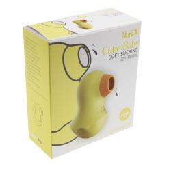 【女用器具】法拉蒂 逗小鸭吮吸震动情趣跳蛋(限价129元)萌宠上新/价格调整