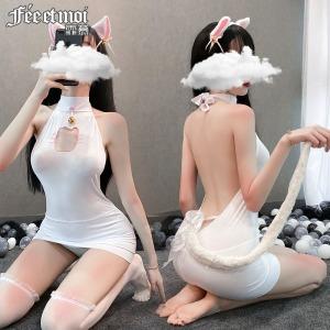 【情趣内衣】霏慕调皮可爱猫咪套装6916(限价销售39)增加规格