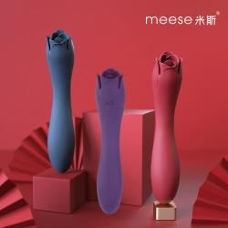 【女用器具】meese米斯  朵拉 多功能舌舔震动棒(限价258)