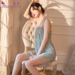【情趣内衣】霏慕蕾丝吊带小仙女睡裙7803【限价销售39】