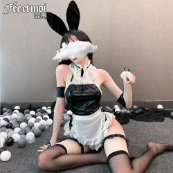 【情趣内衣】霏慕俏皮萌兔女仆套装6991【限价销售48】