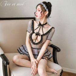 【情趣内衣】霏慕傲慢公主芭蕾纱裙网衣7459【限价销售49.9】