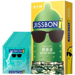 【避孕套】杰士邦 动感大颗粒(现在更名为野兽派)