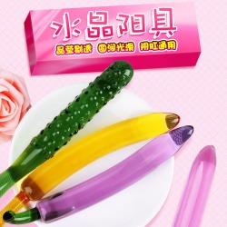 【女用器具】谜姬 蔬果系列水晶阳具 不限价  装箱数:50/箱
