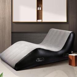 【情趣用品】谜姬 S型情趣充气沙发(做完不做)