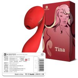 【女用器具】KIS  TOY Tina(蒂娜)吸吮按摩棒外部刺激(限价399)月销200+以上,适合主流平台和跨境类销售