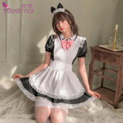 【情趣内衣】霏慕可爱甜心猫咪女仆装7064(限价销售88)