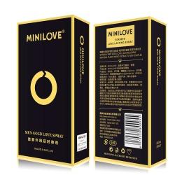 【情趣用品】MINILOVE 微爱金装款 外用延时喷剂(限价68)