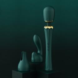 【女用器具】ZALO KYRO女用AV震动棒送头套 女王权杖(限价598元)24个/箱