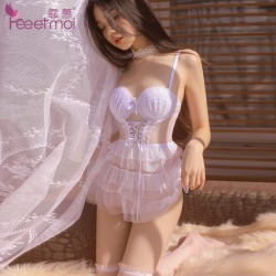 【情趣内衣】霏慕钢圈棉垫蛋糕公主裙7738(限价销售58)更新图片包