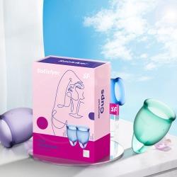 【女用器具】Satisfyer 女用月经杯(限价109元)60个/箱
